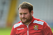 Stevenage manager, Darren Sarll during the EFL Sky Bet League 2 match between Stevenage and Forest Green Rovers at the Lamex Stadium, Stevenage, England on 21 October 2017. Photo by Adam Rivers.