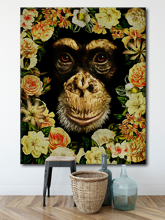Most of us would love to be friends with all the animals of the world. It is easy to imagine anything in the Friendly Animals collection hanging in a personal or professional space<br /> #animals #wildlife #interioridea #homedecoration -<br />