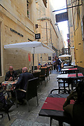 Bar in Strait Street city centre of Valletta, Malta former red light area