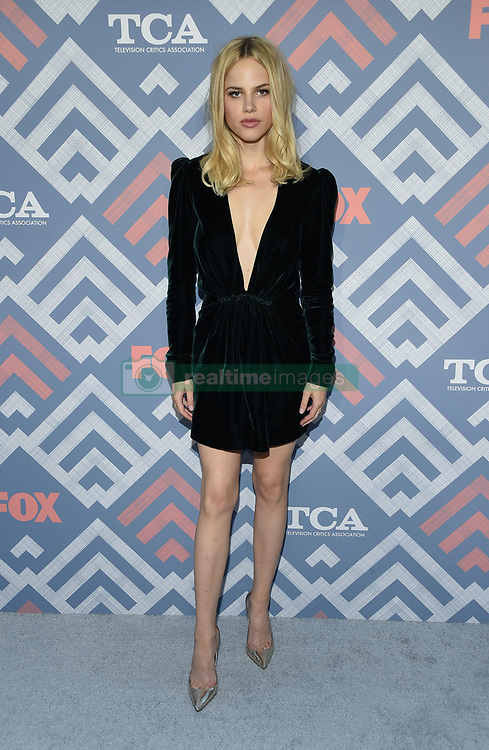 08 August  2017 - West Hollywood, California - Halston Sage.   2017 FOX Summer TCA held at SoHo House in West Hollywood. Photo Credit: Birdie Thompson/AdMedia *** Please Use Credit from Credit Field ***