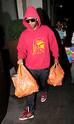 08.JULY.2010 - LONDON<br /> <br /> ORITSE WILLIAMS FROM JLS SPOTTED DOING SOME SHOPPING AT SAINSBURY'S IN MAYFAIR WITH HIS HOOD UP AND SUNGLASSES ON SO HE WOULD NOT BE SPOTTED, AS HE GOT TO THE TILL TO PAY FOR HIS GOODS HIS CARD GOT DECLINED AND HAD TO WAIT TILL A MYSTERY GIRL WHO ALSO HAD HER HOOD UP TRYING NOT TO BE SEEN HAD TO RUN IN TO GIVE HIM SOME MONEY BEFORE THEY BOTH WENT BACK INTO THE MAYFAIR HOTEL.<br /> <br /> BYLINE MUST READ: EDBIMAGEARCHIVE.COM<br /> <br /> *THIS IMAGE IS STRICTLY FOR UK NEWSPAPERS AND MAGAZINES ONLY*<br /> *FOR WORLDWIDE SALES AND WEB USE PLEASE CONTACT EDBIMAGEARCHIVE - 0208 954 5968*