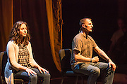 BASETRACK Live, creatd by Edward Bilous; composed by Michelle DiBucci, Edward Bilous, and Greg Kalember; directed by Seth Bockley. Featuring Ashley Brown and Tyler La Marr. Performed at the Brooklyn Academy of Music, 11-15 November 2014.