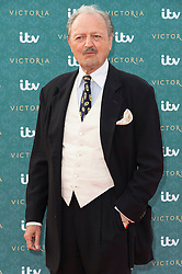 © Licensed to London News Pictures. 11/08/2016. PETER BOWLES attends the VIP press screening of Victoria. The ITV series traces the early life of Queen Victoria, from her accession to the throne at the tender age of 18 through to her courtship and marriage to Prince Albert.  London, UK. Photo credit: Ray Tang/LNP
