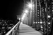 Lights on the Broadway Bridge