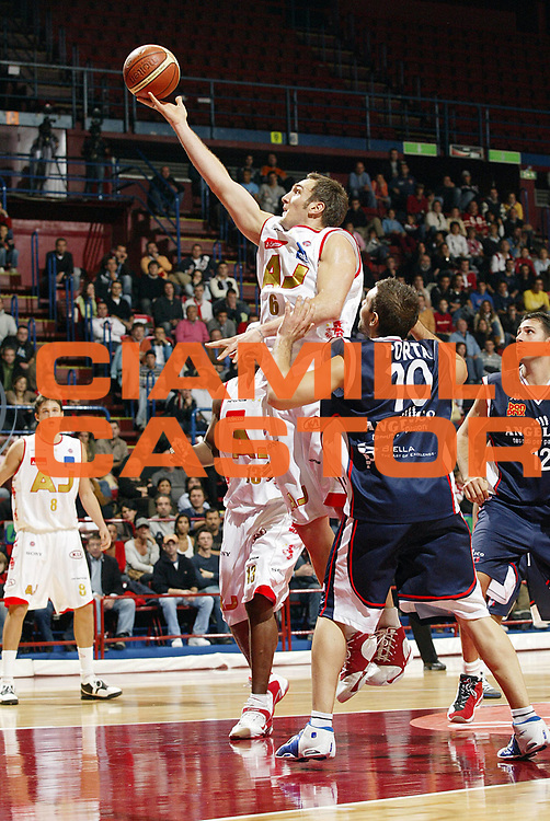 DESCRIZIONE : Milano Lega A1 2006-07 Armani Jeans Milano Angelico Biella<br /> GIOCATORE : Schultze<br /> SQUADRA : Armani Jeans Milano<br /> EVENTO : Campionato Lega A1 2006-2007 <br /> GARA : Armani Jeans Milano Angelico Biella <br /> DATA : 04/11/2006 <br /> CATEGORIA : Tiro<br /> SPORT : Pallacanestro <br /> AUTORE : Agenzia Ciamillo-Castoria/G.Cottini<br /> Galleria : Lega Basket A1 2006-2007 <br /> Fotonotizia : Milano Campionato Italiano Lega A1 2006-2007 Armani Jeans Milano Angelico Biella<br /> Predefinita :