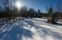 Gunstock Nordic's Fatbike Fury Evening Adventure race will be set to begin after the sun goes down on Saturday evening.  (Karen Bobotas/for the Laconia Daily Sun)