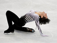 USA's Johnny Weir finishes his free program of the men's figure skating competition Thursday at the 2010 Olympic Winter Games in Vancouver, BC.