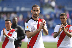 February 23, 2019 - Getafe, Madrid, Spain - Mario Suarez of Rayo Vallecano after La Liga Spanish championship, football match between Getafe and Rayo Vallecano, February 23th, in Coliseum Alfonso Perez in Getafe, Madrid, Spain. (Credit Image: © AFP7 via ZUMA Wire)