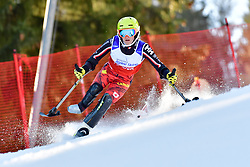 TURGEON Frederique, LW2, CAN, Slalom at the WPAS_2019 Alpine Skiing World Cup Finals, Morzine, France