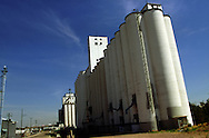 A 31 MG IMAGE OF:.A grain elevator in Denver, Colorado Photo by Dennis Brack