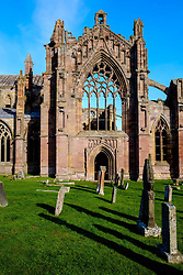 Melrose Abbey, Melrose. Scottish Borders<br /> <br /> (c) Andrew Wilson | Edinburgh Elite media