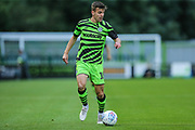 Forest Green Rovers Kevin Dawson(18)  during the EFL Trophy match between Forest Green Rovers and U21 Southampton at the New Lawn, Forest Green, United Kingdom on 3 September 2019.