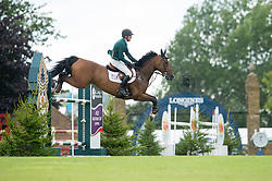 Breen Shane (IRL) - Ominerale Courcelle<br /> Speed Class<br /> International Horse Show - Hickstead 2014<br /> © Hippo Foto - Jon Stroud