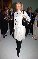 ANGELA AHRENDTS Chief Executive of Burberry at an exhibition of David Hockney portraits at the National Portrait Gallery sponsored by Burberry on 11th October 2006.<br /><br />NON EXCLUSIVE - WORLD RIGHTS