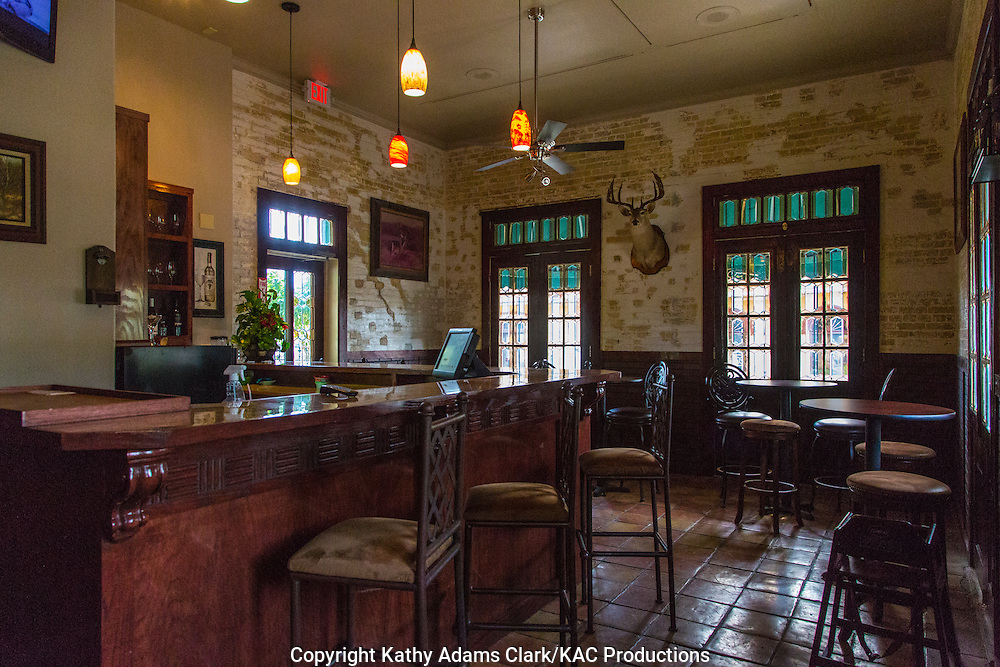 Che's Mexican Bistro is in the same building as the Le Borde House Hotel in Rio Grande City, Texas.