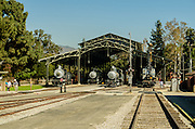 Griffith Park Travel Town Railroad
