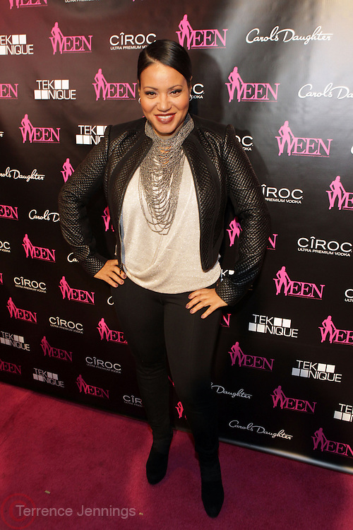 19 November-New York, NY:  Recording Artist Sandra Denton of 'Salt-N-Pepa attends the 4th Annual WEEN (Women in Entertainment Empowerment Network) Awards held at Helen Mills Theater on November 19, 2014 in New York City.  (Terrence Jennings)