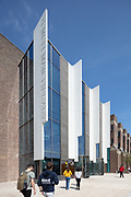 Templeman Library Extension & Refurbishment, University of Kent. Architect: Penoyre & Prasad.