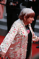 Agnes Varda at the gala screening for the film Dheepan at the 68th Cannes Film Festival, Thursday May 21st 2015, Cannes, France.