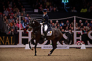 Simon Missiaen (BEL) & Vradin - Grand Prix Freestyle - Reem Acra FEI World Cup Dressage Qualifier - The London International Horse Show Olympia - Olympia, London, United Kingdom - 18 December 2012