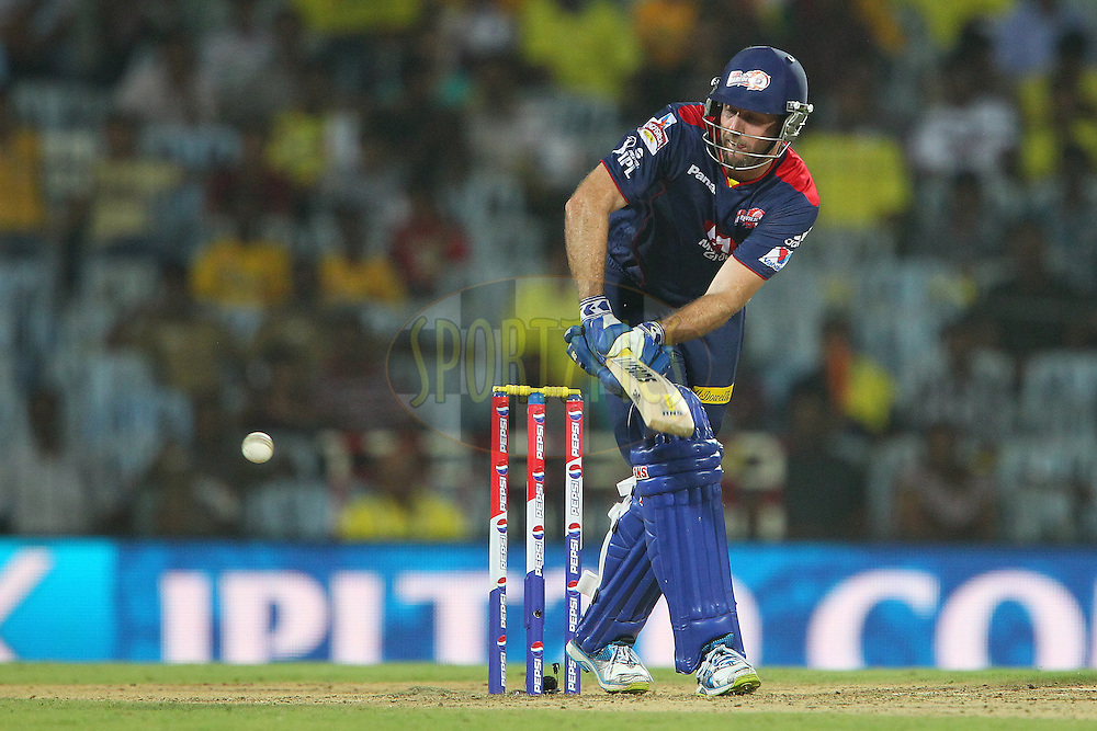 Ben Rorher match 64 of the Pepsi Indian Premier League between The Chennai Superkings and the Delhi Daredevils held at the MA Chidambaram Stadium in Chennai on the 14th May 2013..Photo by Ron Gaunt-IPL-SPORTZPICS   .. .Use of this image is subject to the terms and conditions as outlined by the BCCI. These terms can be found by following this link:..http://www.sportzpics.co.za/image/I0000SoRagM2cIEc