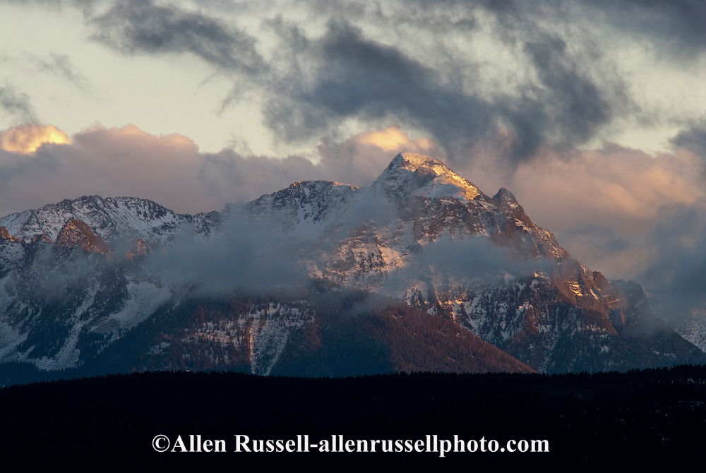 Absaroka Range, Gallatin National Forest, Absaroka Beartooth Wilderness, south of Livingston, Montana