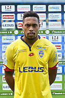 Mickael alphonse of Sochaux during the FC Sochaux photocall for the season 2016/2017 in Sochaux on September 20th 2016<br /> Photo : Philippe Le Brech / Icon Sport
