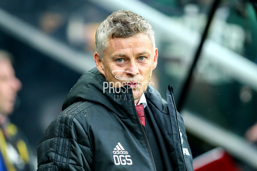 Manchester United manager Ole Gunnar Solskjaer during the Premier League match between Newcastle United and Manchester United at St. James's Park, Newcastle, England on 6 October 2019.