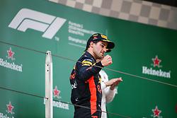 April 15, 2018 - Shanghai, China - RICCIARDO Daniel (aus), Aston Martin Red Bull Tag Heuer RB14, portrait during 2018 Formula 1 FIA world championship, China Grand Prix, at Shanghai from April 12 to 15  (Credit Image: © Hoch Zwei via ZUMA Wire)