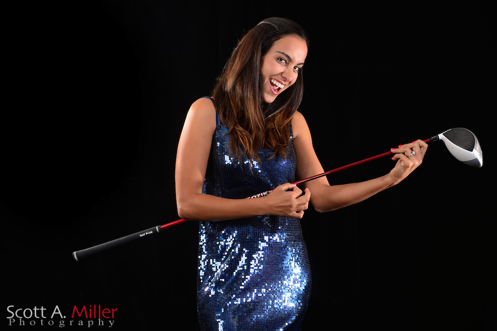 Victoria Alimonda Lovelady during a portrait session prior to the Symetra Tour's Florida's Natural Charity Classic at the Lake Region Yacht and Country Club on Mar 20, 2013  in Winter Haven, Florida. ..©2013 Scott A. Miller