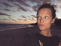 """Toni Garrn releases a photo on Instagram with the following caption: """"Never been outside of a big city this long and it feels SO good!! It\u2019s incredibly necessary to be smelling fresh air, hugging trees, being with wild animals, seeing stars, or even just around the ocean often... nothing makes me feel as grounded and healthy and all are a huge luxury to airplane peeps like me. Sadly ending tomorrow ..these past 4/5 weeks of Ghana, Hamburg, Costa Rica, LA (no big city feels to me) and now Mexico have made me SO grateful to live on this planet \ud83c\udf0d Adios vacations, see you in a couple of months?!\u2708\ufe0f\ud83c\udde8\ud83c\uddf7\ud83c\uddf2\ud83c\uddfd\ud83d\udc12\ud83d\udc83\ud83c\udffb\ud83c\uddec\ud83c\udded (oh and huge shout out to my amazing travel agent Knud who makes anything possible, on a daily basis \ud83d\ude4f\ud83c\udffc)"""". Photo Credit: Instagram *** No USA Distribution *** For Editorial Use Only *** Not to be Published in Books or Photo Books ***  Please note: Fees charged by the agency are for the agency's services only, and do not, nor are they intended to, convey to the user any ownership of Copyright or License in the material. The agency does not claim any ownership including but not limited to Copyright or License in the attached material. By publishing this material you expressly agree to indemnify and to hold the agency and its directors, shareholders and employees harmless from any loss, claims, damages, demands, expenses (including legal fees), or any causes of action or allegation against the agency arising out of or connected in any way with publication of the material."""