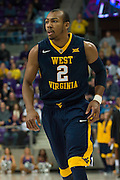 FORT WORTH, TX - JANUARY 4: Jevon Carter #2 of the West Virginia Mountaineers looks on against the TCU Horned Frogs on January 4, 2016 at Ed and Ray Schollmaier Arena in Fort Worth, Texas.  (Photo by Cooper Neill/Getty Images) *** Local Caption *** Jevon Carter