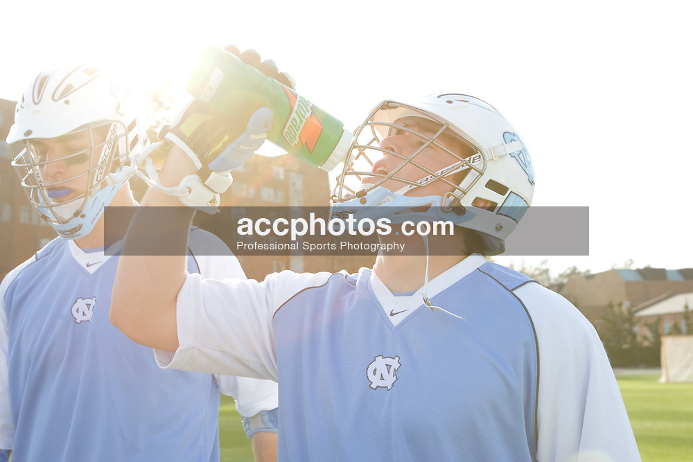 22 March 2008: North Carolina Tar Heels midfielder Tommy D'Alessandro (17) before playing the Maryland Terrapins at Fetzer Field in Chapel Hill, NC.