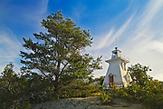 The Tomahawk Lighthouse Museum on the shores of Lake of the Woods<br /> Morson<br /> Ontario<br /> Canada