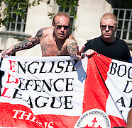 EDL Protest Whitehall May 27 2013