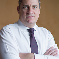 Vincent Magnenat, Chief Executive Officer Head of Private Banking Asia at Lombard Odier poses for a portrait at the company headquarters in Singapore on 17 April 2015. Photo by Victor Fraile / studioEAST