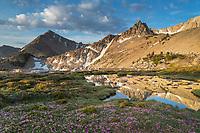 Big Boulder Lakes Basin, White Clouds Wilderness Idaho