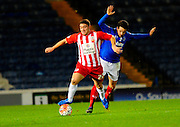 Accrington Stanley's Adam Buxton during the The FA Cup match between Portsmouth and Accrington Stanley at Fratton Park, Portsmouth, England on 5 December 2015. Photo by Graham Hunt.