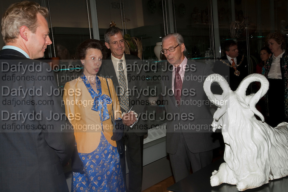 THE PRINCESS ROYAL; MARK JONES; SIR TIM SAINSBURY, Opening of the V. and A.'s New Ceramics Galleries by the Princess Royal. V. & A. London. 16 September 2009