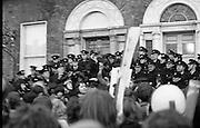 Demonstration at British Embassy.31/01/1972
