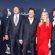 NLD/Utrecht/20150923 - Opening NFF 2015, filmpremiere J. Kessels, cast, fedja van Huet, Ruben van der Meer, Rene d Bruijn, Romi van Renterghem en Frank Lammers