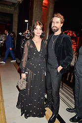PIXIE GELDOF and JACK GUINNESS at the Warner Music Group & Ciroc Vodka Brit Awards After Party held at The Freemason's Hall, 60 Great Queen St, London on 24th February 2016.