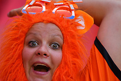 June 30, 2019 - Valenciennes, France - Netherlands Women's National Football team fans during the quarter-final between in ITALY and NETHERLANDS the 2019 women's football World cup at Stade du Hainaut, on the 29 June 2019. (Credit Image: © Julien Mattia/NurPhoto via ZUMA Press)