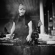 Stewart grilling - Norway