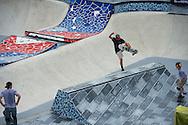 Alex Sorgente during Men's Skate Park Practice at the 2013 X Games Barcelona in Barcelona, Spain. ©Brett Wilhelm/ESPN