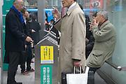 designated smokers area tokyo at Shibuya station