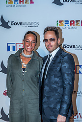 October 11, 2016 - Nashville, Tennessee, USA - TobyMac and his wife at the 47th Annual GMA Dove Awards  in Nashville, TN at Allen Arena on the campus of Lipscomb University.  The GMA Dove Awards is an awards show produced by the Gospel Music Association. (Credit Image: © Jason Walle via ZUMA Wire)