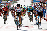 Peter Sagan (SVK - Bora - Hansgrohe), Alejandro Valverde (ESP - Movistar)during the UCI World Tour, Tour of Spain (Vuelta) 2018, Stage 7, Puerto Lumbreras - Pozo Alcon 185,7 km in Spain, on August 31th, 2018 - Photo Luis Angel Gomez / BettiniPhoto / ProSportsImages / DPPI