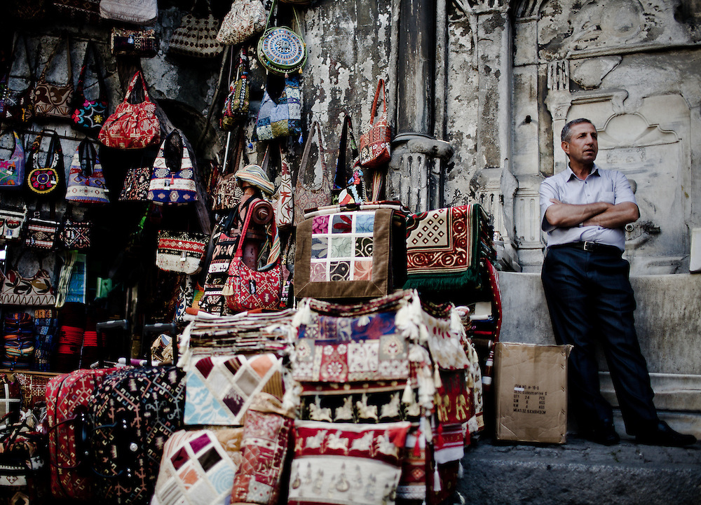 Istanbul is a fascinating city at the gateway between Europe and Asia. Bazaar. Sultanahmet