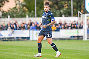Leeds United midfielder Kalvin Phillips (2) in action during the Pre-Season Friendly match between Guiseley  and Leeds United at Nethermoor Park, Guiseley, United Kingdom on 11 July 2019.